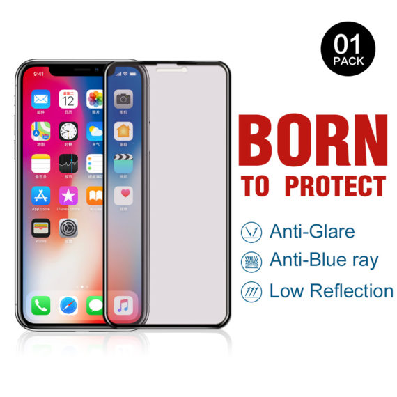 release date 2f9b2 3d315 Apple iPhone XS X 10 Tempered Glass Screen Protector