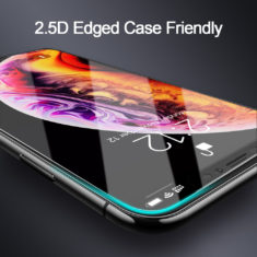 2.5d curved edge case friendly for iphone screen protectors