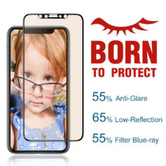 PERFECTISHGT iPhone XR 2018 6.1 inch Tempered Glass Screen Protector matte antiglare premium edition main pic