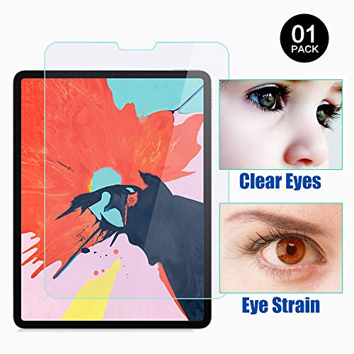 ipad pro 12.9 2018 model anti glare glass screen protector