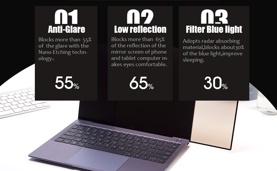 macbook screen protector matte antiglare primary