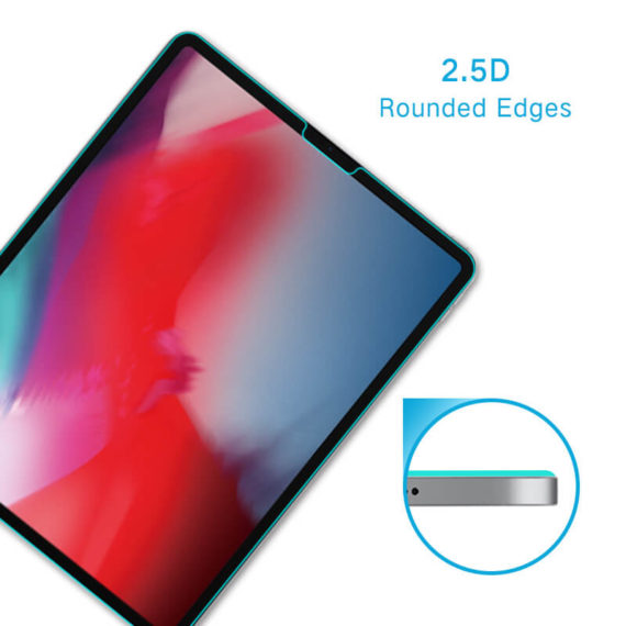 2.5D curved edge case friendly for iPad pro 11 2018 tempered glass hd clear primary edition