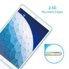 2.5D cuved edge case friendly for iPad pro 9.7 air tempered glass screen protector hd clear primary edition