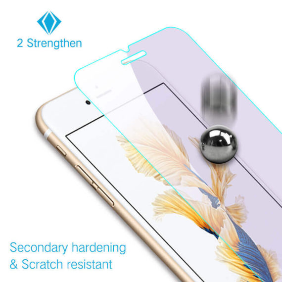 2X stronger effect for iPhone
