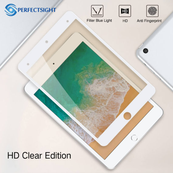 HD clear premium edition screen protector blackfor ipad mini 4 5