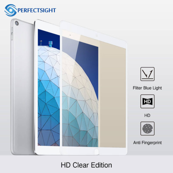 HD clear premium edition screen protector white for ipad pro 10.5 air 3