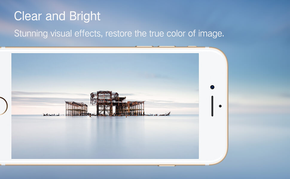 High definition clear effect for iPhone eye care screen protector