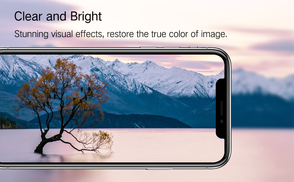 High definition clear effect for iPhone x series eye care screen protector