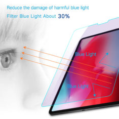 about 30% anti blue light for iPad pro 11 2018 tempered glass hd clear primary edition