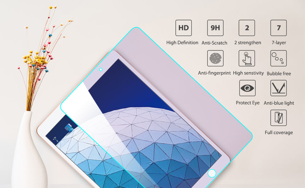 additional performance for iPad pro 11 2018 tempered glass hd clear primary edition