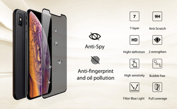 additional performance for iphone privacy screen protector