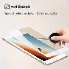anti fingerprint 9h effect for ipad mini 4 5