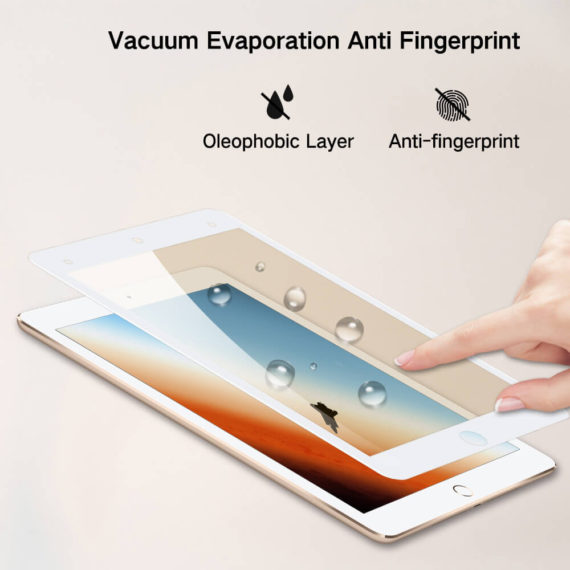 anti fingerprint smudge effect for ipad mini 4 5