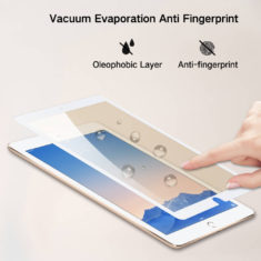 anti fingerprint smudge effect for ipad pro 10.5 air 3