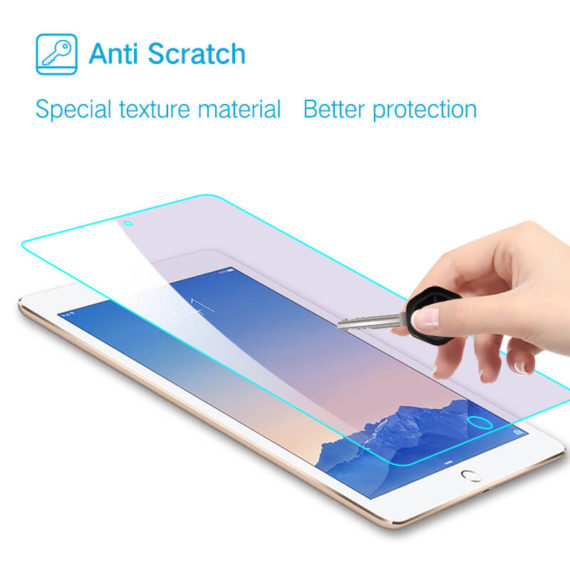 anti scratch for iPad pro 9.7 air tempered glass screen protector hd clear primary edition