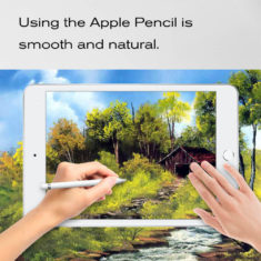 apple pencile compatible effect for ipad mini 4 5