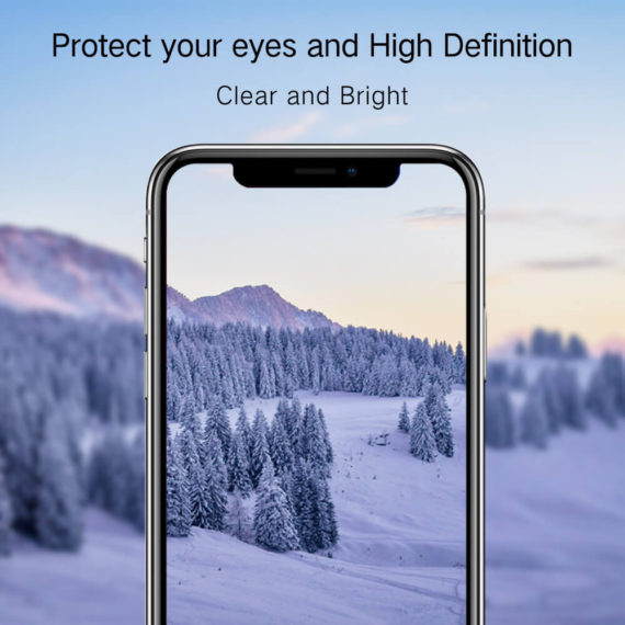 hd clear effect for iPhone X series hd clear primary edition screen protector