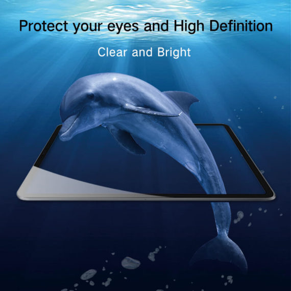 hight definition clear effect for iPad pro 12.8 11 2018 tempered glass hd clear primary edition