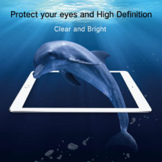 hight definition clear effect for iPad pro 9.7 air tempered glass screen protector hd clear primary edition