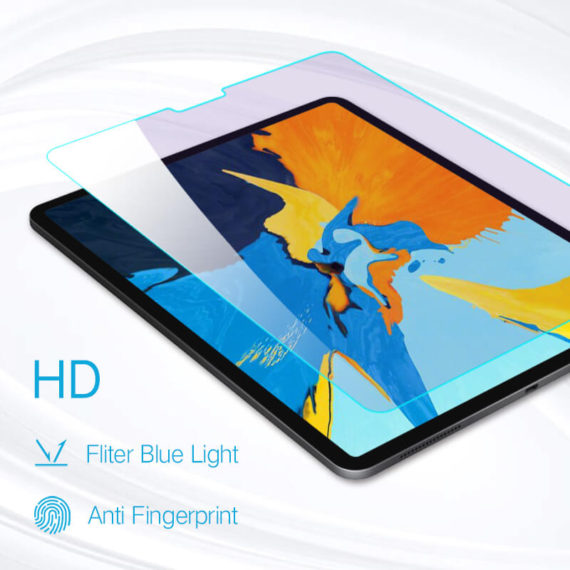 iPad pro 12.9 2018 tempered glass hd clear primary edition main pic