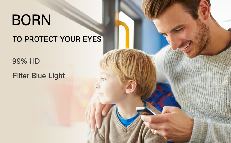 protect you and your beloves' eyes with iphone eye care screen protector