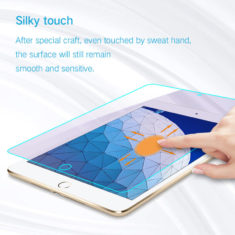 silk touch for iPad pro 9.7 Air tempered glass screen protector hd clear primary edition