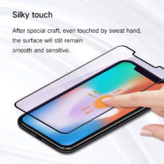 silky touch high sensitivity effect for iPhone X series hd clear primary edition screen protector