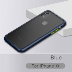 iPhone xr Phone Case, Drop Protection blue