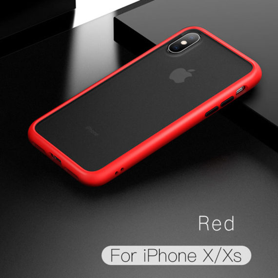 iPhone xs x 10 Phone Case, Drop Protection red