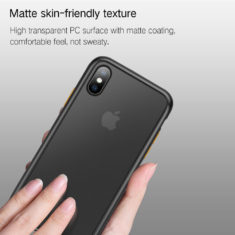 matte anti fingerprint hand feel for iPhone xs max phone case