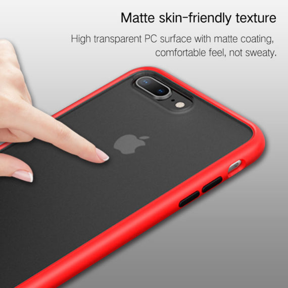 matte skin-friendly texture for iphone 7 8 series phone case