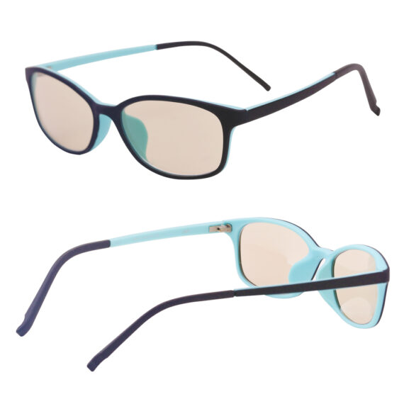 Kids blue light blocking glasses H6141 multi angles side