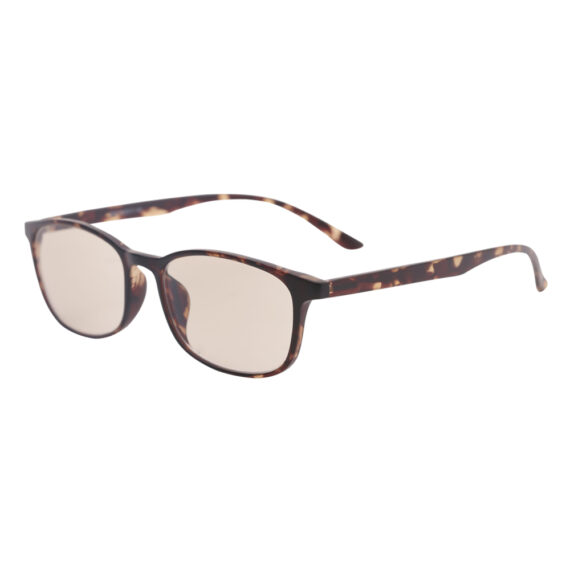 blue light filtering glasses 1039 floral brown