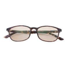 blue light filtering glasses 1039 floral brown front