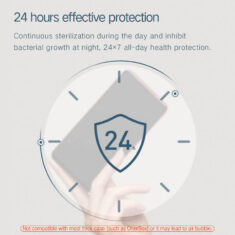 24 hours anti-bacterial protection