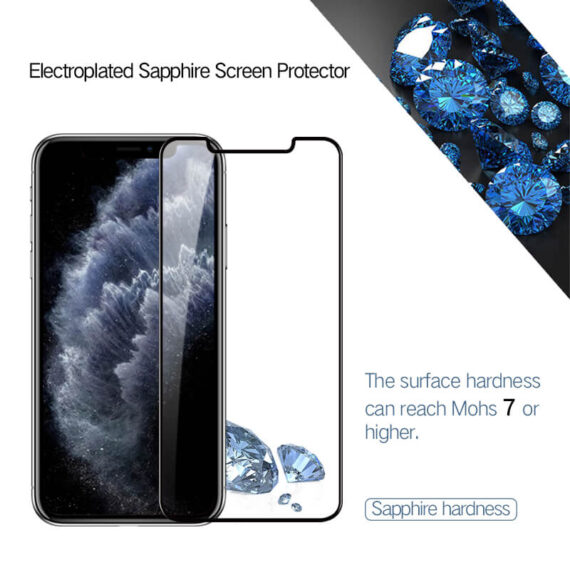 iphone 11 pro max sapphire screen protector